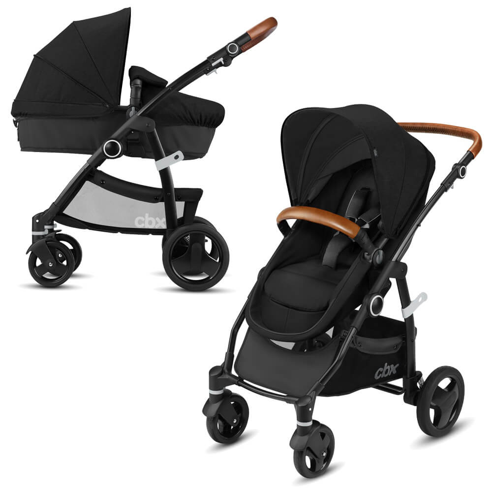Коляска-трансформер Cybex CBX Leotie Flex Lux (Smoky Anthracite)