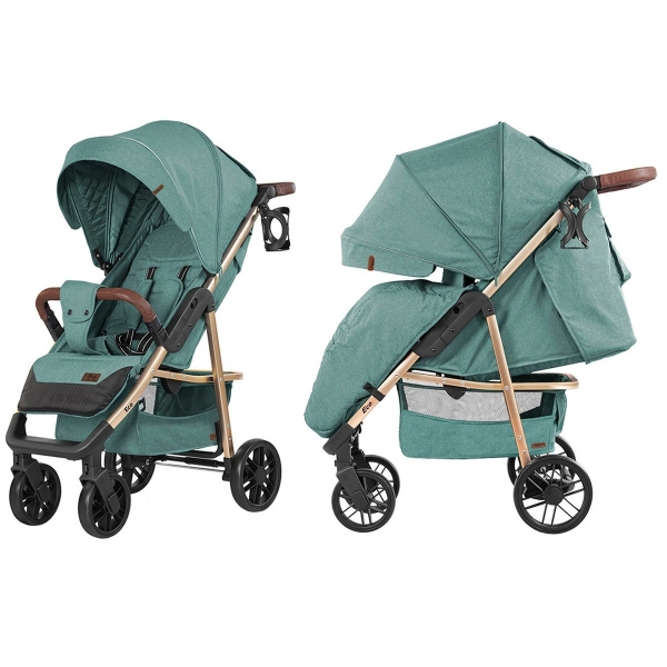 Коляска прогулочная Baby Tilly Eco (Emerald Green)